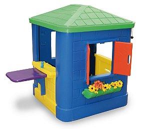 Casinha de Brinquedo e Boneca Infantil Sem Cerquinha