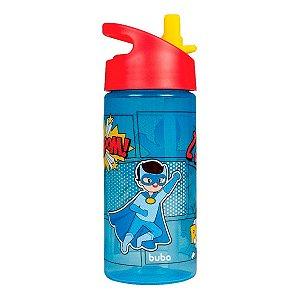 Garrafa Super Heróis Azul 380Ml Buba