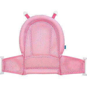 Rede de Proteção Banho Baby Rosa