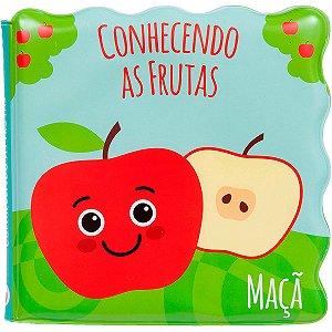 Livrinho de Banho Macio Conhecendo as Frutas