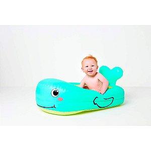 Banheira Inflavel Baleia Feliz Buba Colorido