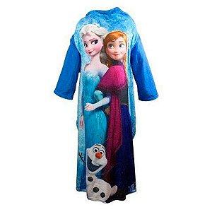 Cobertor Com Mangas Elsa E Anna Frozen Disney