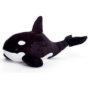 Almofada Bicho De Pelúcia Baleia Orca