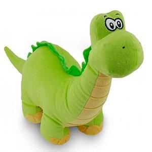Almofada Bicho De Pelúcia Baby Dino Verde