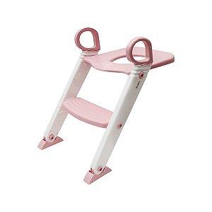 Redutor de Assento com Escada Buba Rosa Claro +12M Baby
