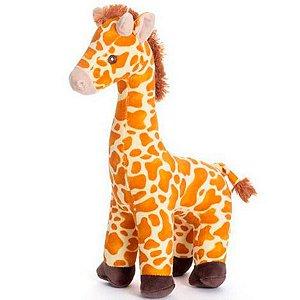 Almofada Bicho De Pelúcia Girafa Gilda Pequeno 40 Cm