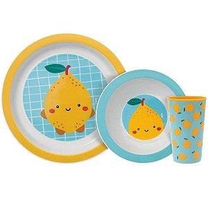 Kit Refeição Infantil Frutti Limao Buba Baby