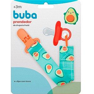 Prendedor de Chupeta Frutti Avocado Buba Baby