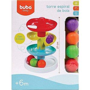 Brinquedo infantil Torre Espiral De Bolas Baby Buba