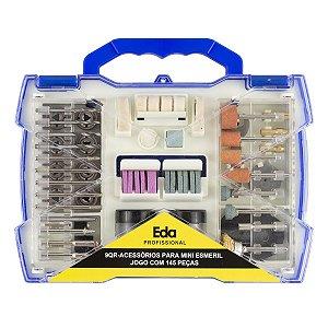 Kit de Acessórios Para Mini Esmeril Com 145 Peças