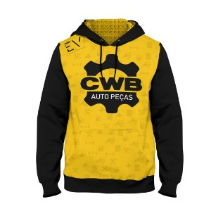 Moletom Masculino Personalizado CWB Auto Peças Modelo 1