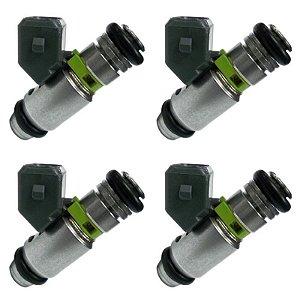 Kit 4 Bico Injetor Partner 1.8 Gasolina Scenic 2.0 16v Igasa