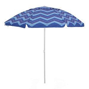 Guarda Sol Capri Azul com bolsa 2,40 m Articulado