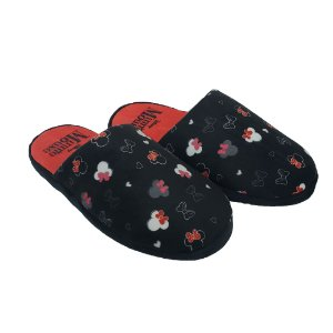 Chinelo Feminino Minnie Mouse Preto 38-39