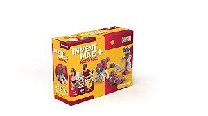 Brinquedo de montar Playou Invent Mais Robo Buzz 40 peças