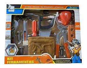 Kit Ferramentas Infantil 12 Peças  Fenix 3288
