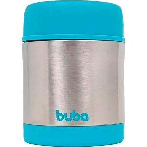 Pote Térmico Buba Inox Parede Dupla Azul