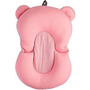 Almofada Para Banho  Baby Buba Rosa