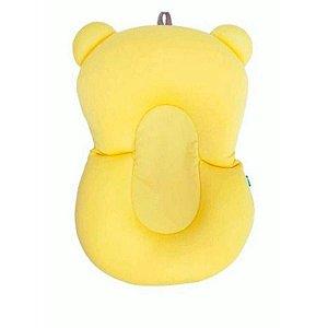 Almofada Para Banho Baby Buba Amarelo