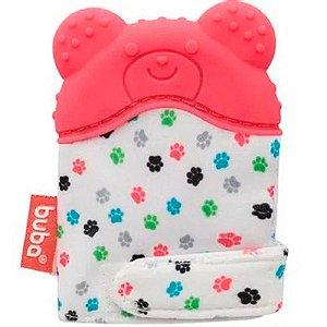 Luvinha Mordedor Urso Rosa Buba Baby