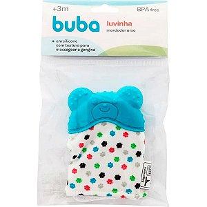 Luvinha Mordedor Urso Azul Buba Baby
