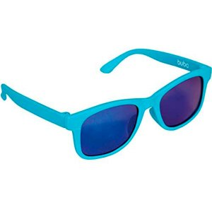 Óculos de Sol Baby Armação Flexível Azul Alça Ajustável