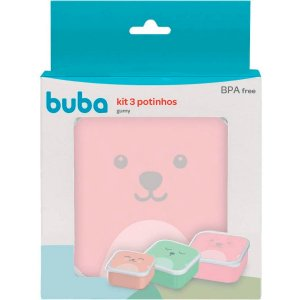 Kit 3 Potinhos Gumy