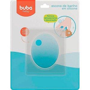 Escova de Banho em Silicone para Bebê Buba