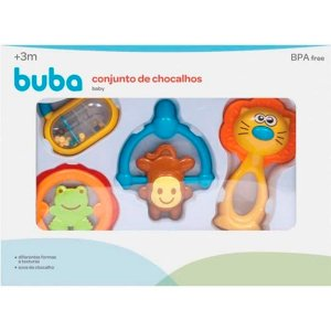 Conjunto De Chocalhos Baby Buba
