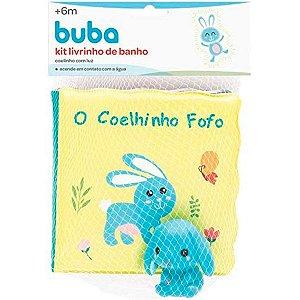 Kit Livrinho De Banho E Coelhinho Buba