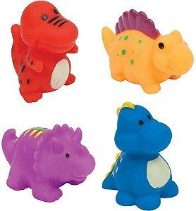Bichinhos Para Banho Animais Dinossauro