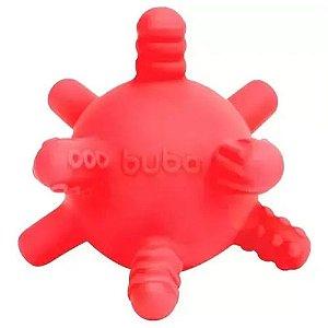 Mordedor Bolinha Vermelho Multi Texturas Buba