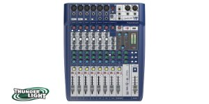 Mesa De Som Soundcraft Signature 10 Canais