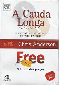 Livro A Cauda Longa e Free - Cris Anderson Edição 2 em 1