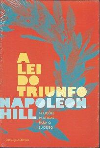 Livro A Lei do Triunfo - Napoleon Hill - Autoajuda