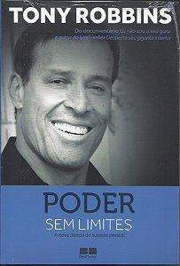 Livro Auto Ajuda Poder Sem Limites - Anthony Robbins - PNL