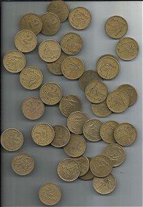 Lote 120 Moedas 2 Cruzeiros 1945 e 1949 Para Aliança