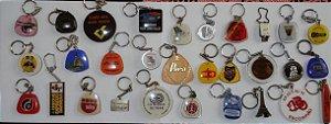 Chaveiro Lote 30 Chaveiros Antigos Coleção Vários Modelos K2