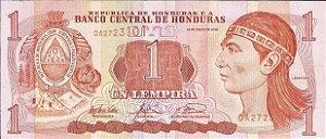 Cédula Honduras 1 Lempira 2003 FE Cédula Estrangeira