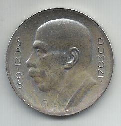 Moeda Brasil 5000 Réis 1938 Prata Santos Dumont