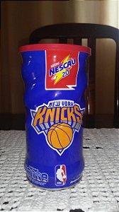 Lata Nescau Comemorativa NBA Times New York Knicks Lata Vazia Sem Achocolatado