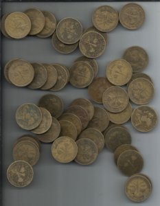 Moeda Brasil 1000 Réis 1922 Centenário Independência Bronze-alumínio Para Aliança