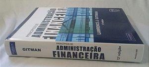 Livro Princípios De Administração Financeira - Lawrence J. Gitman 12 ed