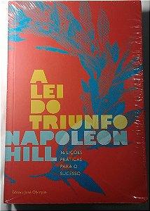 Livro A Lei Do Triunfo - Napoleon Hill - Ed. José Olympio