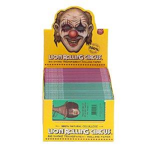 Seda Transparente King Size - Caixa com 50 unidades