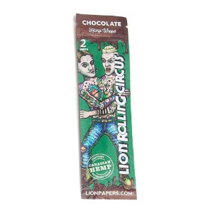 Hemp Wraps Sabor Chocolate