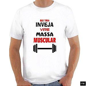 Frases 2 Camiseta Branca