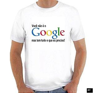 Vocë não é Google
