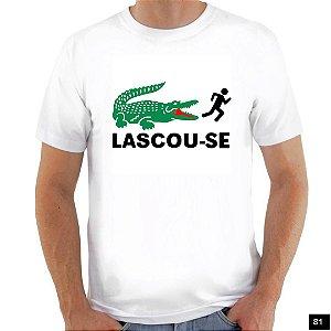Camiseta Satira - Lascou-se