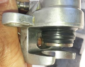 Pinça de freio traseira para xt/tenere 600